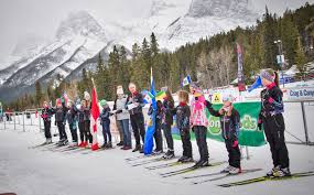 kids youth canmore nordic ski club