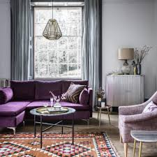 phenomenal interior design purple living room