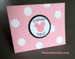 minnie mouse thank you cards minnie mouse thank you cards with printable labels