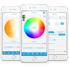 lucero smart bulb color changing rgb led light bluetooth app