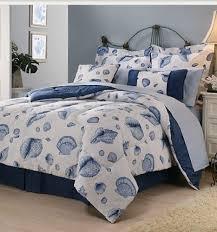 seashell themed tropical comforter sheets shams