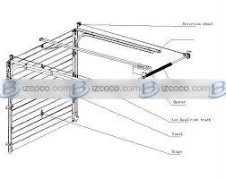 Overhead Door Track Commercial Overhead Door Wiring Diagram Garage Door Track Garage
