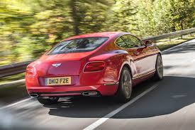 bentley sports car rear bentley continental gt speed gallery 1 evo
