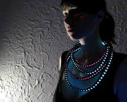 halloween light up necklaces elegant illuminated necklace tutorial the beading gem u0027s journal