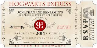 harry potter birthday invitations free ideas egreeting ecards