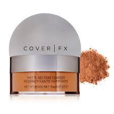 cover fx translucent setting powder light cover fx matte setting powder deep dermstore