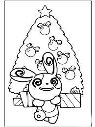 pokemon christmas coloring pages learn coloring