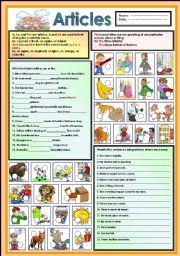 esl kids worksheets articles