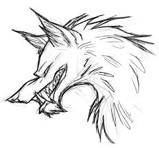 coloring page wolf face redcabworcester redcabworcester