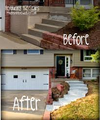 front porch designs for split level homes my ugly split level the front stairs home remodel inspiration