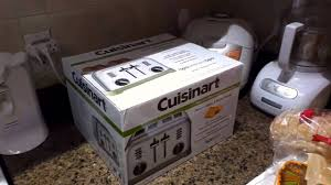 Cuisinart 4 Slice Toaster Cpt 180 Hd Unboxing The Cuisinart Metal Classic 4 Slice Toaster Youtube