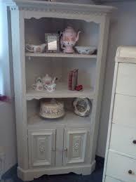 corner china hutch cabinet foter