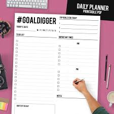 daily planner template pdf daily planner printable daily planner binder daily zoom