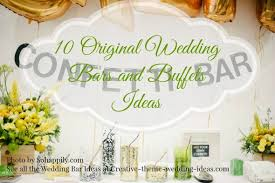 make your own buffet table wedding reception buffet table