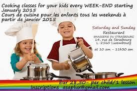 atelier cuisine pour enfants cours de cuisine luxembourg adultes enfants cours de cuisine