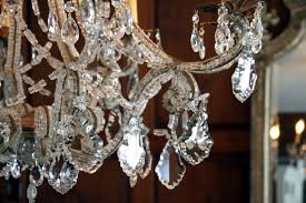 Vintage Crystal Chandelier Parts Antique Crystal Chandeliers For Dining Room U2014 Home Ideas