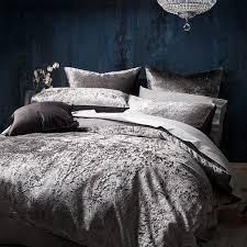 scarlett velvet quilt cover set target australia