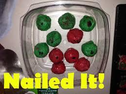 fail ornament cake balls fail
