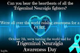 teal ribbons the teal ribbon trigeminal neuralgia home