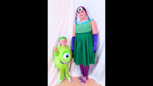 diy monsters inc halloween costume youtube