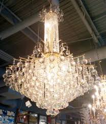 Entry Chandelier Elegant Chandeliers Lighting Lights Crystal Blown Art Glass