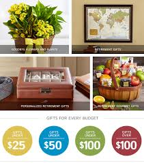 Gardening Basket Gift Ideas by Retirement Gifts U0026 Ideas Gifts Com