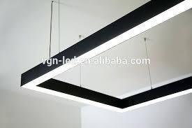 suspended linear light fixtures linear light fixture linear suspension wet location linear