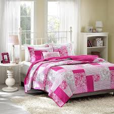 Polka Dot Bed Sets by Amazon Com Mizone Abbey 4 Piece Coverlet Set Full Queen Pink