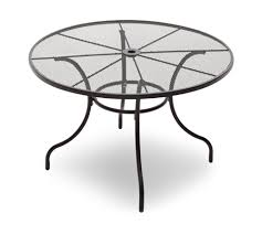 Patio Chair Repair Mesh Metal Patio Tablec2a0 Round Outdoor Table Od 3131 Wholesale