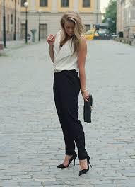black and white jumpsuit for juhola mango jumpsuit mulberry clutch zara heels black