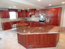 kitchen design steel cherry shaker painting custom color