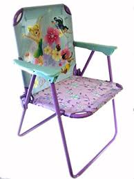 Patio Folding Chair Disney Tinkerbell Metal Patio Chair