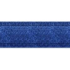 tapis de cuisine sur mesure tapis pour cuisine amortissant résistant sur mesure bleu