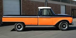 1966 ford f250 truck 390 big block harley davidson paint color