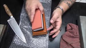 Sharpening Stones For Kitchen Knives My First Look At The 1000 6000 Grit Sorbus Sharpening Stone Youtube