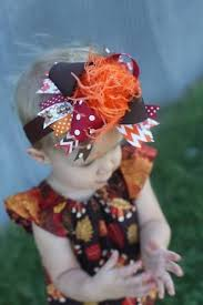 thanksgiving hair bows thanksgiving chevron the top hair bow headband