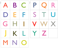 printable note cards pdf 2 sets of free pdf with 26 printable alphabet cards in upper case