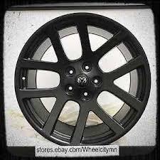 dodge ram viper 20 inch matte black dodge ram srt 10 viper oe replica wheels