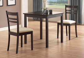 beautiful small space savingning tables cherry chairs stupendous
