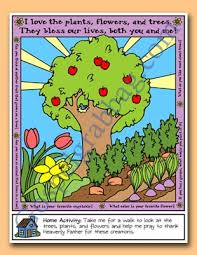 Trees Plants And Flowers - primary lesson helps sunbeam lesson 10 i am thankful for trees