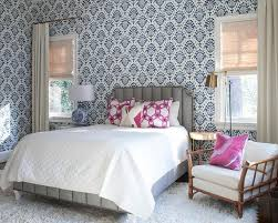 Blue And Gray Bedroom Blue And Gray Bedroom With Mismatched Nightstands