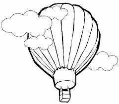 balloon coloring pages unique air balloon coloring pages awesome 7593 unknown
