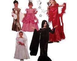 Girls Movie Star Halloween Costume Morticia Costume Etsy