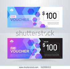 corporate gift card corporate gift voucher template luxury gift stock vector 512508313