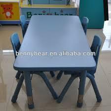 adjustable height kids table kindergarten furniture adjustable height kids table and chair set