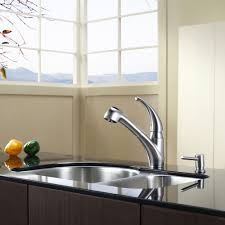 Kitchen Faucets Single Handle With Sprayer Kitchen Faucet Kraususa Com