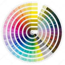 pantone color palette u2014 stock photo catalby 17356573