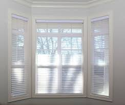 Best Blinds For Bay Windows Silhouette Bay Window Spruce Interiors