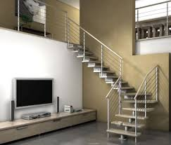 Interior Steps Design Duplex House Design