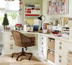 workspace style the home office for less with pottery barn office